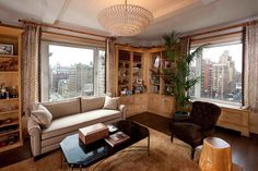 perfect NYC penthouse! I made all the faux-wood paneling, as well.