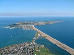 Portland Dorset Approach by Microlight - leftwingover Portland Dorset, Great Places, Beautiful Places, British Beaches, Dorset Coast, Dorset England, Canada Images, Landscape Pictures, Wonders Of The World