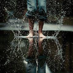 Splash! Dare to play in the rain!