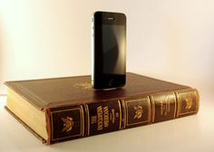 The Book iPhone Dock | Geeky Gadgets