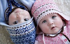 Twin Boy and Girl...Adorable!