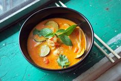 Curry rouge au lait de coco