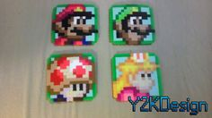 Super Mario Bros 2 Coasters