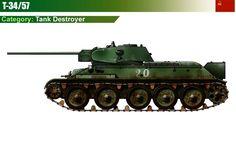 T-34/57 Tank Destroyer
