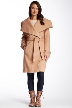 Belted Trench Coat by Bebe on @nordstrom_rack