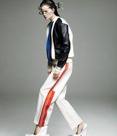 """Future Perfect""   Model: Kasia Struss, Photographers: Claudia Knoepfel & Stefan Indlekofer, WSJ Magazine, November 2012"