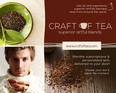 Follow us! #tea #tealover #craftoftea