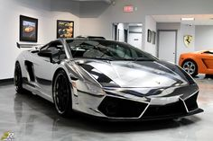 Lamborghini Gallardo Chrome by ZR Auto with 1500HP