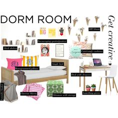 Dorm wall decor and dorm room on pinterest for Dorm room decor quiz