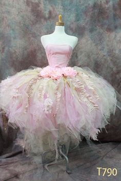 A fantastic customize tutu set #Vintage Victorian tutu# Wedding/Whimsical# Fairy/Wearable Art by Elena