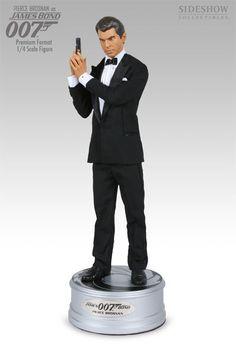 James Bond 007 Sideshow Statue Pierce Brosnan Classic Premium Factory SEALED | eBay