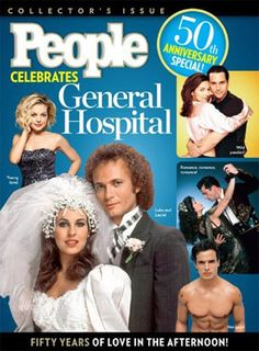 general hospital 50th anniversary images | General Hospital' People Magazine Cover in Honor of 50th Anniversary ...