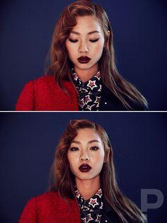 koreanmodel:  Jung Ho Yeon, Park Min Hyuk for Koon Korea Nov 2015