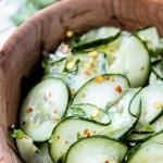 Cilantro-Lime Cucumber Salad