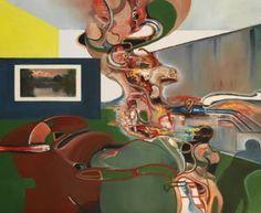 "Saatchi Art Artist Daniel Maczynski; Painting, ""the livingroom"" #art"