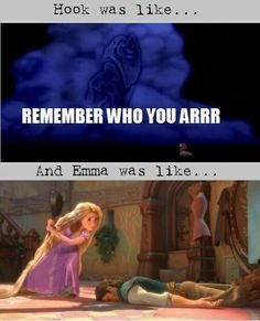 "This very Disney parallel. | 24 Jokes Only ""Once Upon A Time"" Fans Will Understand READ THIS! So awesomely funny! :D"