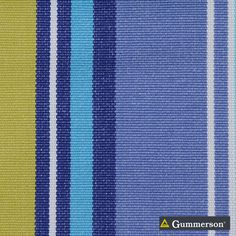Gummerson - French-Stripe Marine Uncoated 150cm   Ideal Drape Makers