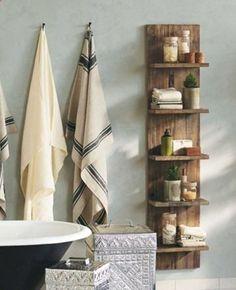Bathroom Storage Solutions (vivaterra?) link to DIY version...