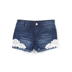 Girls Stretch 4 Pockets Premium Shorts with Lace Diy Shorts, Lace Shorts, Jean Shorts, Cotton Shorts Women, Ripped Jeans, Skinny Jeans, Girls Stretching, Perfect Jeans, Summer Shorts