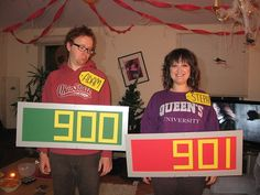 I need to do this one year! My grandpa was on the price is right so it's only fitting!!