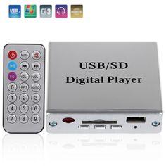 Sale 12V Digital Auto Car Power Amplifier Car Audio MP3 Player FM Radio Audio Power Amplifier Car with Remote Control