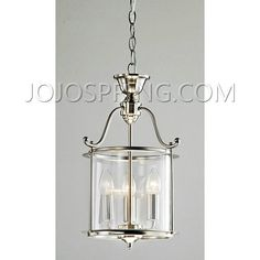 Indoor 3-light Antique Nickel Chandelier - LDG-025-TS3