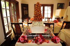 新郎新婦様からのメール  鮮やかな花 生きている花 シェ松尾松濤レストラン様 : 一会 ウエディングの花