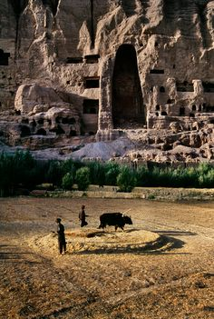 Bamiyan Valley. Bamiyan Province, Afghanistan. 1st - 13th century Buddhist archaeological site.