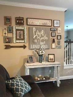 36 Wonderful Home Interior With On A Budget Farmhouse Wall Decor