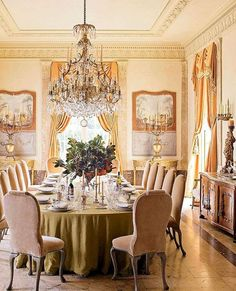 50+ Glorious and Luxury Western Dining Room Design