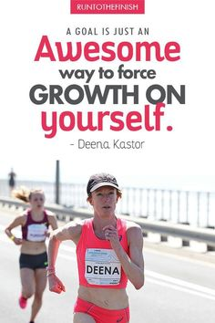 Running is so much more than a finish line - get more running quotes to keep you going