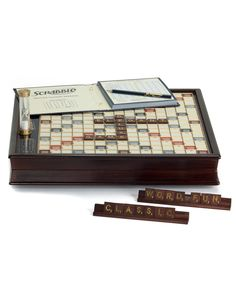 "Spotted this Puzz 3D ""Scrabble Deluxe Edition"" Boardgame on Rue La La. Shop (quickly!)."