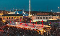 """Flow Festival is one out of """"Ten of the best small music festivals in Europe"""" by Guardian. Photograph: Jussi Hellsten"""