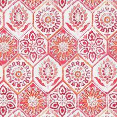 SUMMER BREEZE OUTDOOR GRENADINE - Shop All Outdoor Fabrics - Indoor/Outdoor Fabric - Fabric - Calico Corners