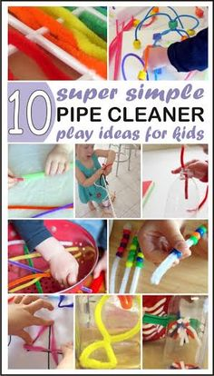 10 Simple and fun Pipe Cleaner activities for kids and toddlers