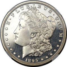 1895 $1 PR68 Cameo NGC