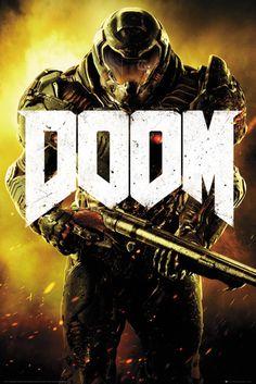 Doom Marine - Official Poster