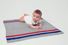 Kostenlose Anleitung: Babydecke - Initiative Handarbeit