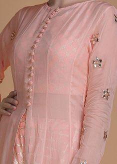 Sleeves Designs For Dresses, Dress Neck Designs, Stylish Dress Designs, Stylish Dresses, Blouse Designs, Stylish Kurtis Design, Neck Designs For Suits, Designer Party Wear Dresses, Kurti Designs Party Wear