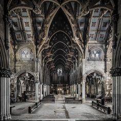 Gothic Church - Canvas Print