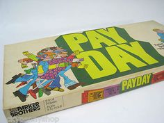 1975 PayDay Board Game http://www.luckypennyshop.com/toys.htm