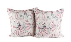 Aviary Scatter Cushions x with piping from Chic Republic Interiors Throw Pillows, Cushions, Interior, Bed, Scatter Cushions