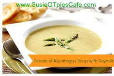 Cream of Asparagus Soup with Soymilk