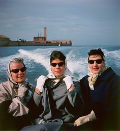 Billie and Wendy Marcus (my mother) with Roberta di Camerino from Reflection of a Man. Photograph by Stanley Marcus.
