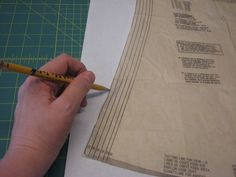 Transfer patterns to freezer paper! Totally doing this.