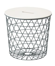 The 15 Cutest Home Buys From The 2017 Ikea Catalog #refinery29  http://www.refinery29.com/2016/08/119532/ikea-catalog-2017#slide-5  ...and comes in a smaller version as well. They could even work as wastebaskets!Ikea Kvistbro Storage Table, $49.99, available at Ikea....