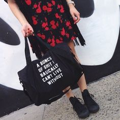 Important sh*t tote.