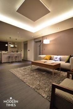 Living Room Modern, Wall Lights, Lighting, Interior, House, Ceiling, Logo, Home Decor, Living Room