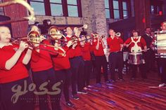 THE PRITZLAFF BUCKY BADGER MADISON BAND www.glossphotogra... Studios located in Milwaukee, third ward, Wisconsin WI & Chicago, West Loop, Illinois IL ( midwest & destination photographer ). Specialize in unique, artistic portraits & weddings. Pose photojournalistic editorial style of preparation, ceremony, bridesmaids, groomsmen, reception, cocktail hour, bride & groom, gay, lesbian, lgbt, brides, grooms. theme fall winter summer spring weddings ideas color black and white