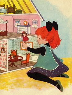 I love dolls, vintage chidrens book | Flickr – Condivisione di foto! Anastasiac